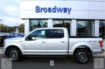 2018 F-150 SuperCrew Cab 4x4, Pickup #M023833 - photo 3