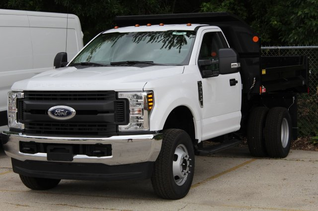 2018 F-350 Regular Cab DRW 4x4,  Dump Body #M024196 - photo 1