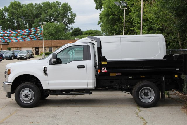 2018 F-350 Regular Cab DRW 4x4,  Dump Body #M024196 - photo 3