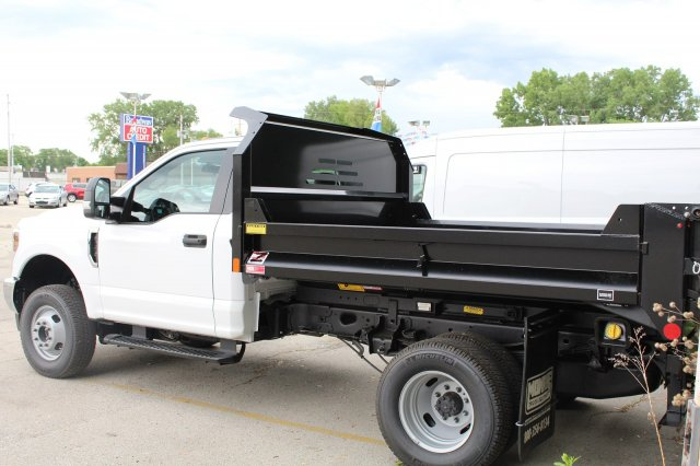 2018 F-350 Regular Cab DRW 4x4,  Dump Body #M024196 - photo 2