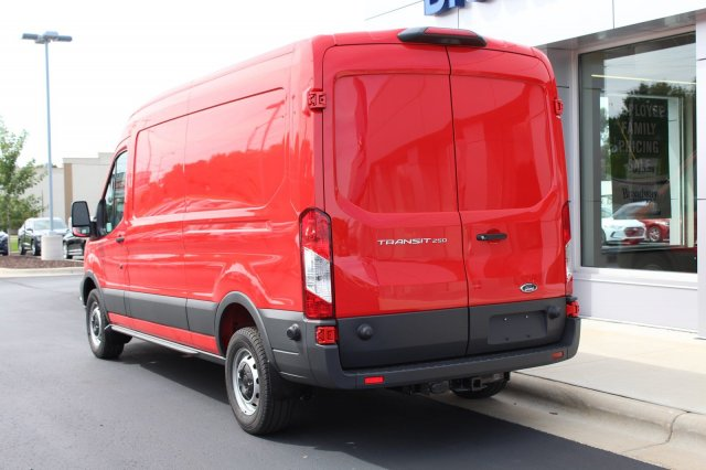 2019 Transit 250 Med Roof 4x2,  Empty Cargo Van #M024919 - photo 3