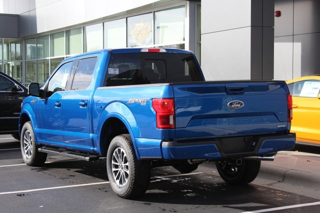 2018 F-150 SuperCrew Cab 4x4,  Pickup #M025159 - photo 2