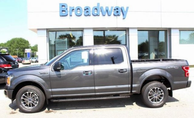 2018 F-150 SuperCrew Cab 4x4,  Pickup #M025201 - photo 4