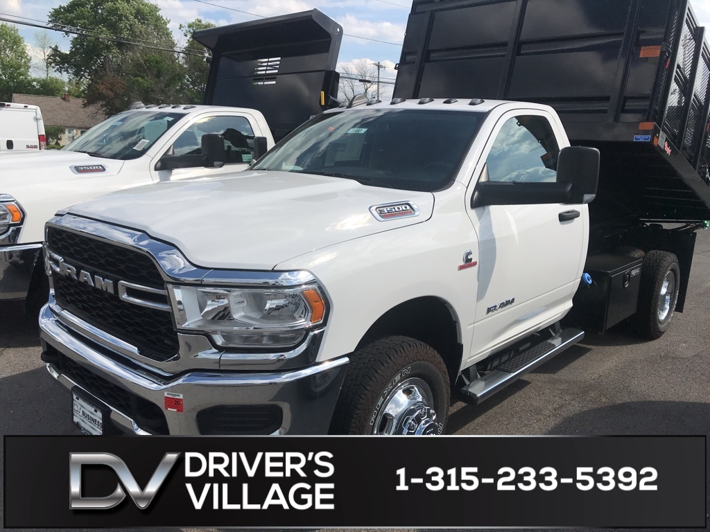 2019 Ram 3500 Regular Cab DRW 4x4, Rugby Landscape Dump #G19101980 - photo 1