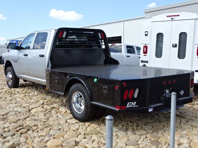 2017 Ram 3500 Crew Cab DRW 4x4, CM Truck Beds Platform Body #591017RL - photo 2