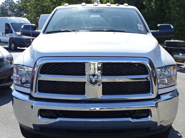 2018 Ram 3500 Crew Cab DRW 4x4, Knapheide Platform Body #592621RL - photo 3