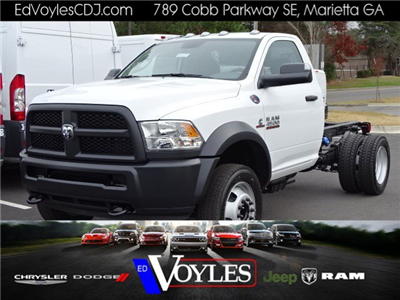 2018 Ram 4500 Regular Cab DRW 4x4, Cab Chassis #593321 - photo 1