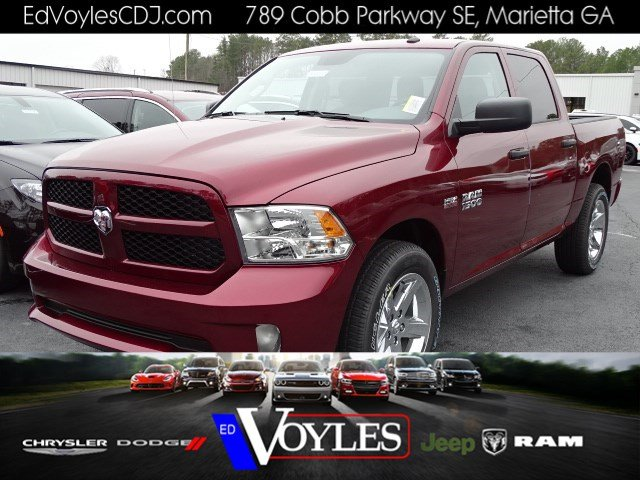 2018 Ram 1500 Crew Cab, Pickup #593513 - photo 1