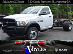 2018 Ram 5500 Regular Cab DRW 4x2,  Cab Chassis #593786 - photo 1