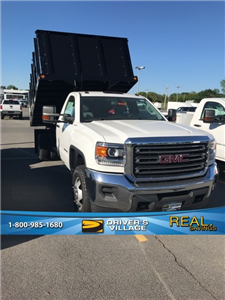 2017 Sierra 3500 Regular Cab DRW 4x4,  Reading Redi-Rack Landscape Dump #B17301333 - photo 1