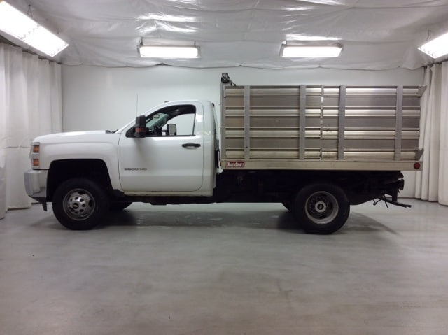 2015 Silverado 3500 Regular Cab 4x4,  Stake Bed #B15UR9606 - photo 3