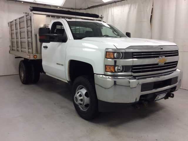 2015 Silverado 3500 Regular Cab 4x4,  Stake Bed #B15UR9606 - photo 6