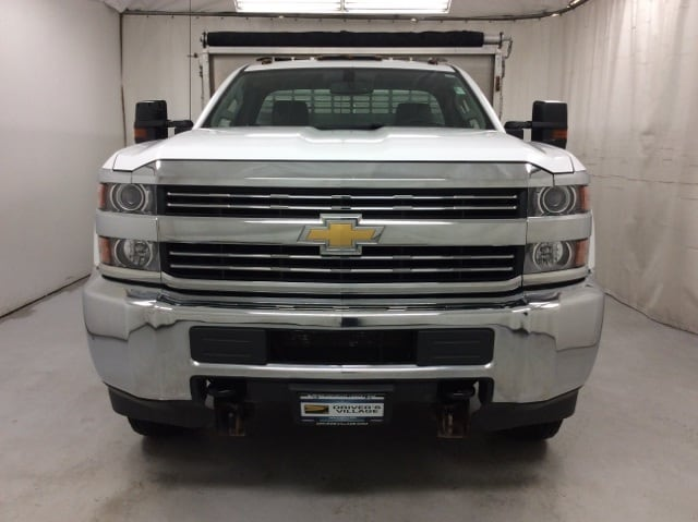 2015 Silverado 3500 Regular Cab 4x4,  Stake Bed #B15UR9606 - photo 7