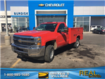 2018 Silverado 2500 Regular Cab 4x4, Knapheide Service Body #B18100706 - photo 1