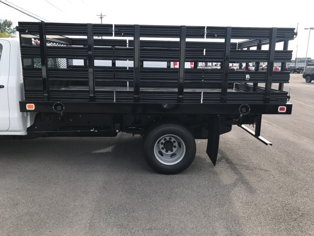 2019 Silverado 3500 Regular Cab DRW 4x2,  Knapheide Stake Bed #B19100075 - photo 3