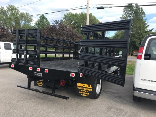2019 Silverado 3500 Regular Cab DRW 4x2,  Knapheide Value-Master X Stake Bed #B19100075 - photo 2