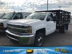 2019 Silverado 3500 Regular Cab DRW 4x2,  Knapheide Stake Bed #B19100075 - photo 1
