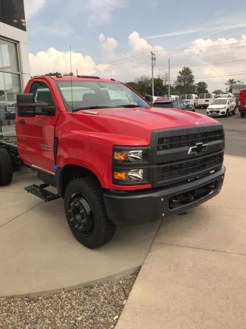 2019 Silverado 5500 Regular Cab DRW 4x2, Cab Chassis #B19101076 - photo 1
