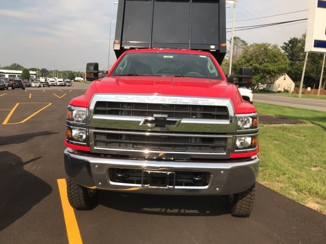 2019 Silverado Medium Duty Regular Cab DRW 4x4, Knapheide Landscape Dump #B19101360 - photo 3