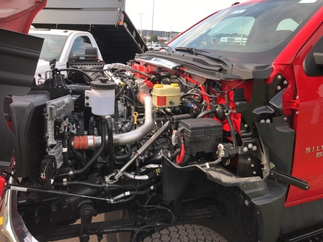2019 Silverado Medium Duty Regular Cab DRW 4x4, Knapheide Landscape Dump #B19101360 - photo 21