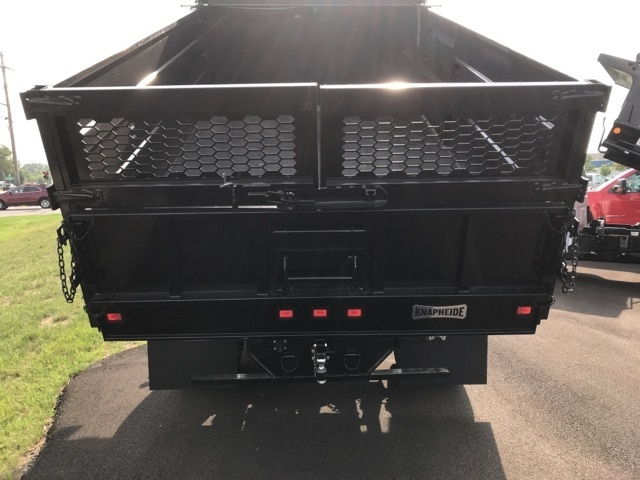 2019 Silverado Medium Duty Regular Cab DRW 4x4, Knapheide Landscape Dump #B19101360 - photo 9