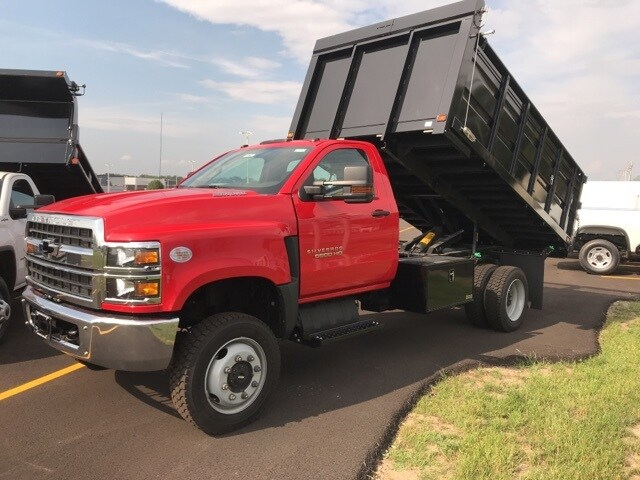 2019 Silverado Medium Duty Regular Cab DRW 4x4, Knapheide Landscape Dump #B19101360 - photo 1