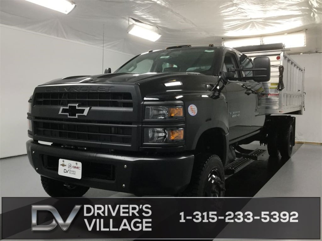 2019 Silverado Medium Duty Crew Cab DRW 4x4, Monroe Landscape Dump #B19101557 - photo 1