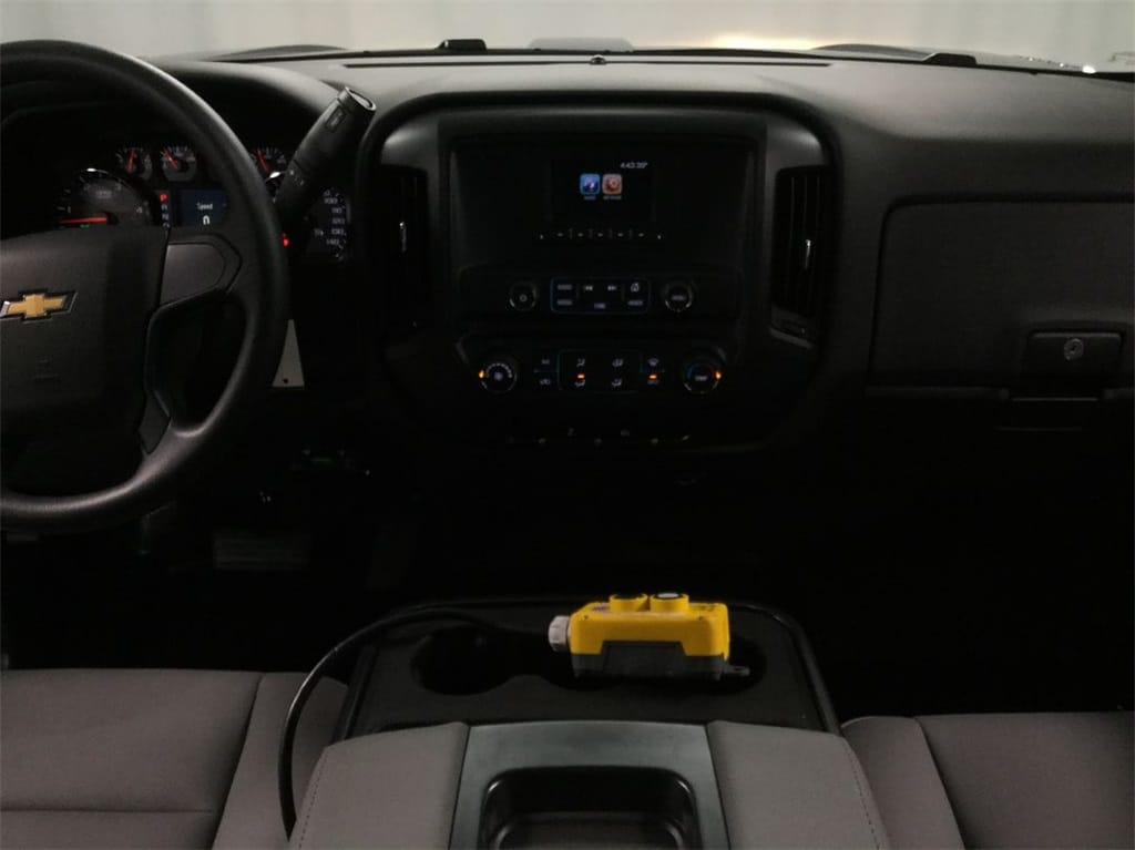 2019 Silverado Medium Duty Crew Cab DRW 4x4, Monroe Landscape Dump #B19101557 - photo 12