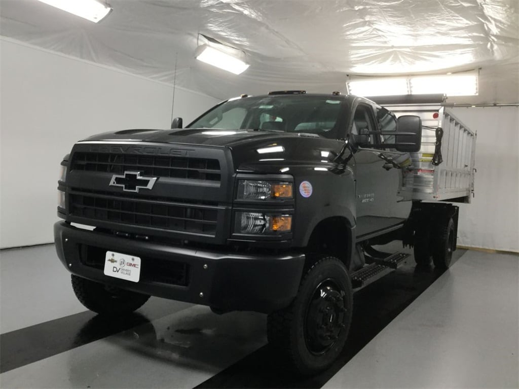 2019 Silverado Medium Duty Crew Cab DRW 4x4, Landscape Dump #B19101557 - photo 3