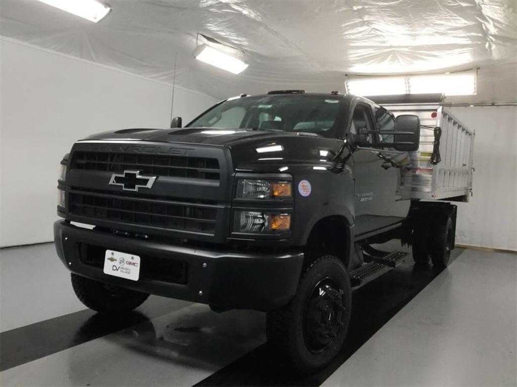 2019 Silverado Medium Duty Crew Cab DRW 4x4, Monroe Landscape Dump #B19101557 - photo 3