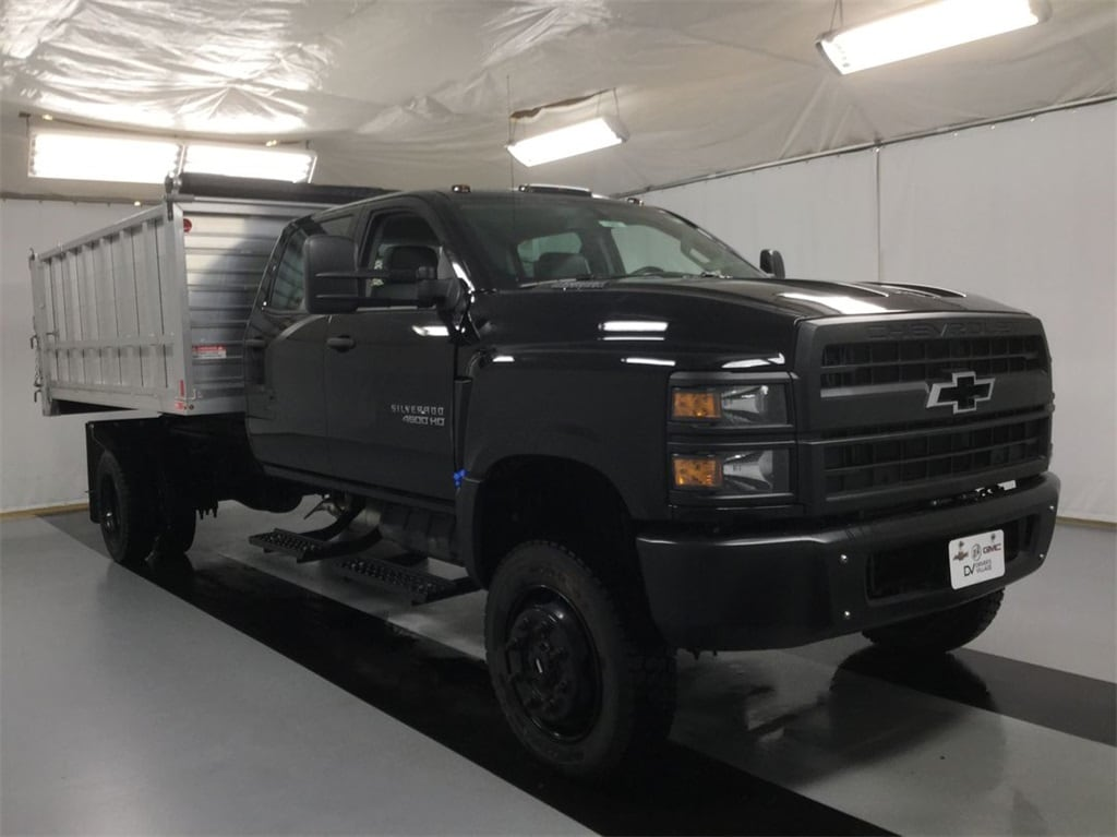 2019 Silverado Medium Duty Crew Cab DRW 4x4, Landscape Dump #B19101557 - photo 6