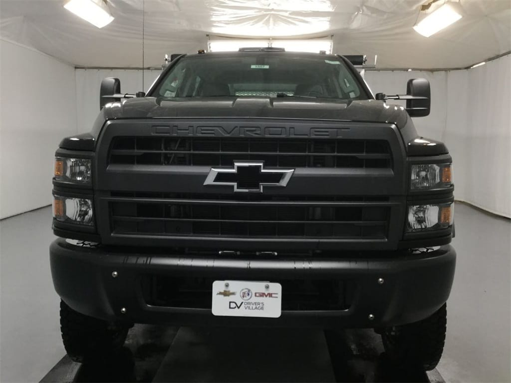 2019 Silverado Medium Duty Crew Cab DRW 4x4, Landscape Dump #B19101557 - photo 7