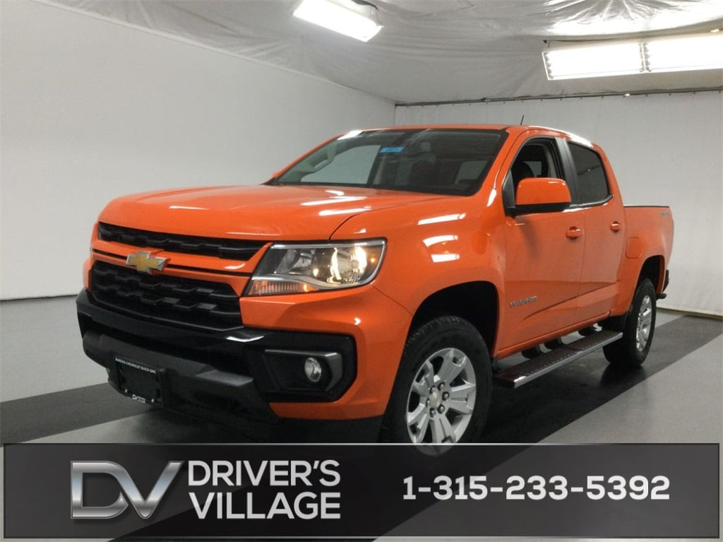 2021 Chevrolet Colorado Crew Cab 4x4, Pickup #B21100573 - photo 1