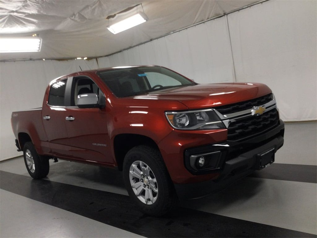 2021 Chevrolet Colorado Crew Cab 4x4, Pickup #B21100574 - photo 6
