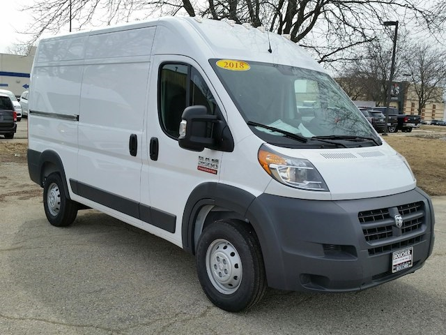 2018 ProMaster 2500 High Roof FWD,  Empty Cargo Van #18RL093 - photo 4