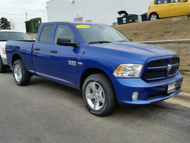 2018 Ram 1500 Quad Cab 4x4,  Pickup #18RL117 - photo 3