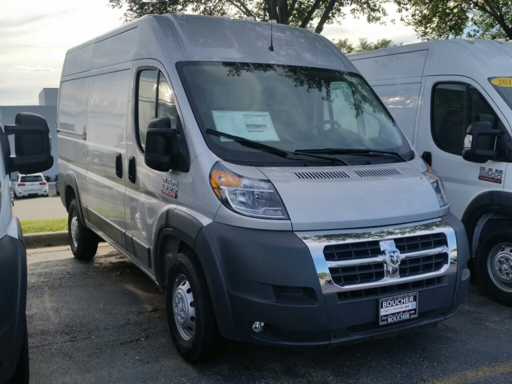 2018 ProMaster 1500 High Roof FWD,  Empty Cargo Van #18RL218 - photo 3