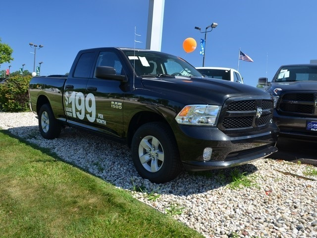 2018 Ram 1500 Quad Cab 4x4,  Pickup #M18728 - photo 4