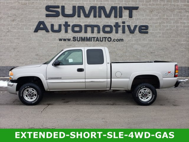 2004 Sierra 2500 Extended Cab 4x4, Pickup #10487A - photo 1
