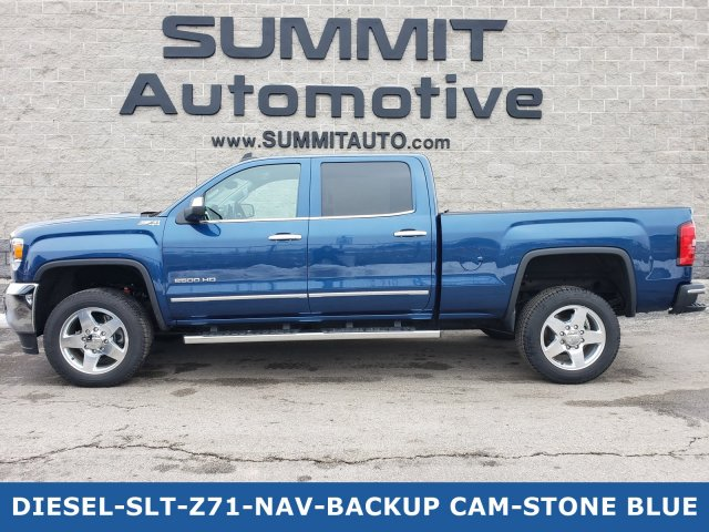 2015 Sierra 2500 Crew Cab 4x4, Pickup #20T31A - photo 1