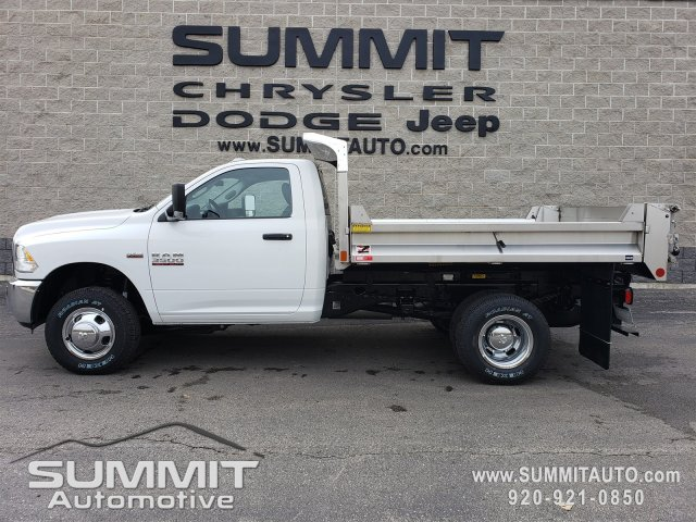 2018 Ram 3500 Regular Cab DRW 4x4,  Monroe MTE-Zee SST Series Dump Body #8T380 - photo 1