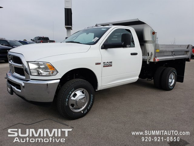 2018 Ram 3500 Regular Cab DRW 4x4,  Monroe Dump Body #8T380 - photo 17