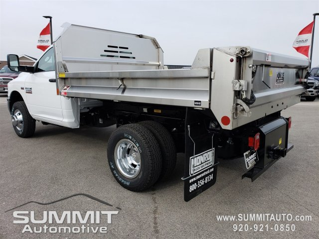 2018 Ram 3500 Regular Cab DRW 4x4,  Monroe Dump Body #8T380 - photo 2
