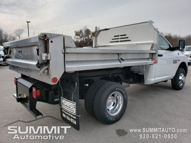 2018 Ram 3500 Regular Cab DRW 4x4,  Monroe Dump Body #8T380 - photo 19
