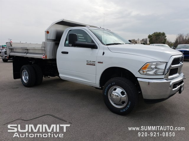 2018 Ram 3500 Regular Cab DRW 4x4,  Monroe Dump Body #8T380 - photo 20