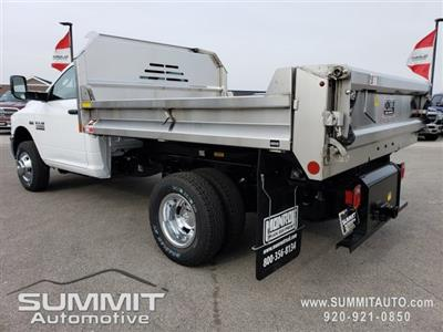 2018 Ram 3500 Regular Cab DRW 4x4,  Monroe MTE-Zee SST Series Dump Body #8T380 - photo 2