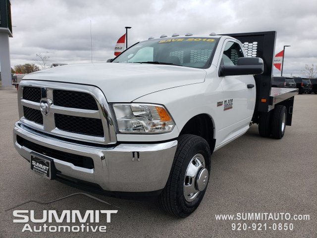 2018 Ram 3500 Regular Cab DRW 4x4,  Knapheide Value-Master X Platform Body #8T413 - photo 2