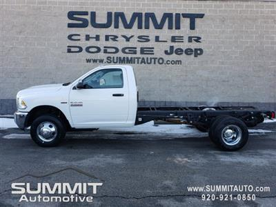 2018 Ram 3500 Regular Cab DRW 4x4,  Cab Chassis #8T418 - photo 1