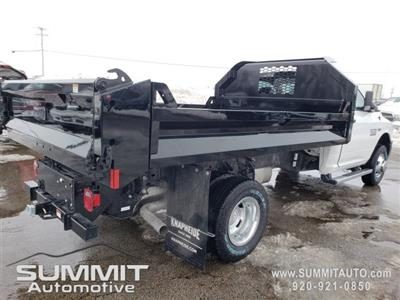 2018 Ram 3500 Regular Cab DRW 4x4,  Knapheide Drop Side Dump Body #8T421 - photo 22