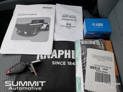 2018 Ram 3500 Regular Cab DRW 4x4,  Knapheide Drop Side Dump Body #8T421 - photo 35